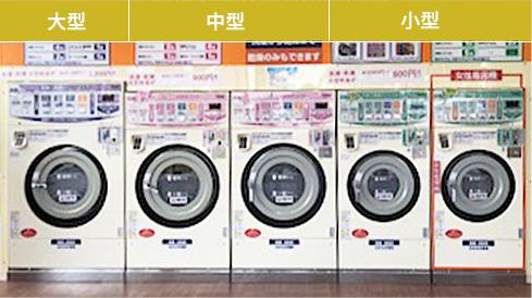洗濯乾燥機の写真