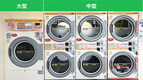 乾燥機の写真