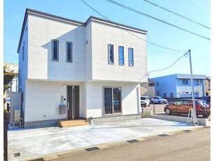 富山市千歳町3丁目 新築一戸建ての外観写真